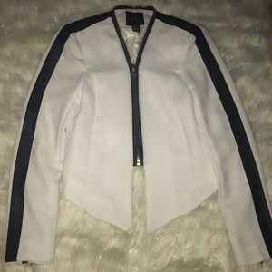 White w/black detail Blazer. Used. Great condition
